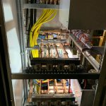 Hard at work to install new Solar AC kioks | Gritsol (PTY) Ltd | Solar Designs & Installations
